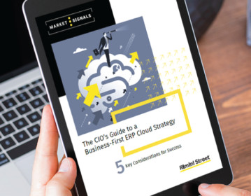 The CIO's Guide to a Business-first ERP Cloud Strategy