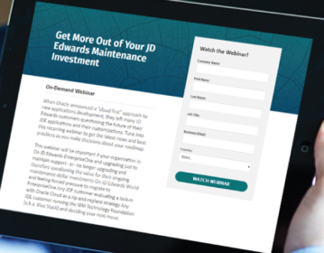 Get More Out of Your JD Edwards Maintenance Investment